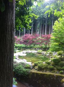 The beautiful grounds of Myotsu-ji Temple in Fukui