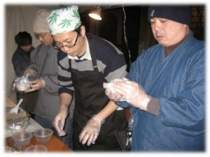 riceballmaking