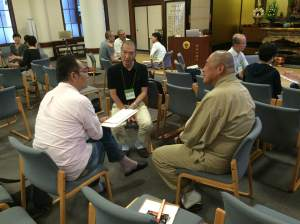 Buddhist chaplains in training in Tokyo