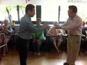 "Rev. Okano makes donation to The House of Sharing for Korean ""comfort women"" from WWII"