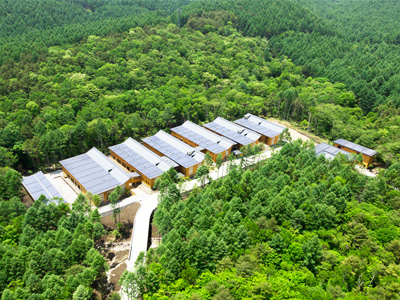 The new Seicho-no-Ie headquarters near Mt. Fuji