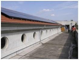 東京都の浄土宗寿光院 5.4kW太陽光発電
