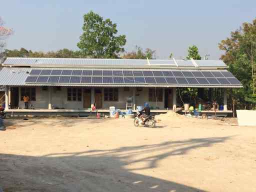 10kW PV Solar on new temple guesthouse