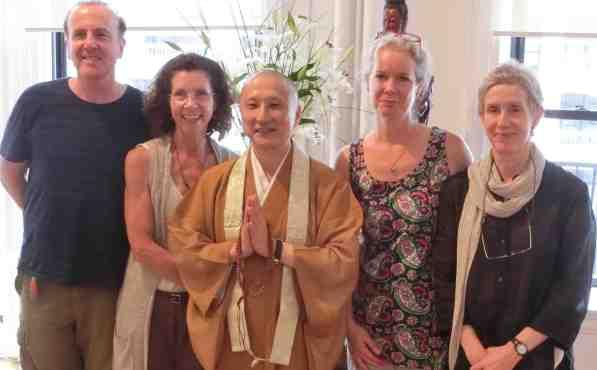 Rev. Jin with Zen Center Chaplains